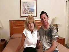 Granny Gets Young Dick Into Her...