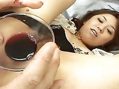 Bushy Vagina Vs Red Wine Orienta...
