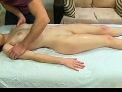 Hot slut Alice March fucked after sweet massage