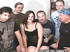 Perfect Pussy Hottie Cum Coated GangBang