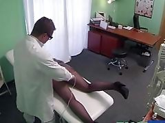 Doctor licks and fucks patients pussy