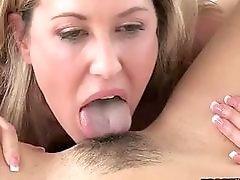 Brandi Love and Lia Lor share on pecker