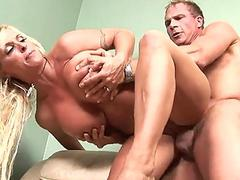 Holly Halston gets her cooch busted hardcore