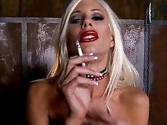 Horny Puma Swede Pops Out Her Gi...