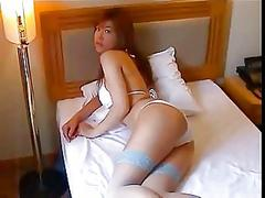 Hot Asian Enjoys Teasing In Her...