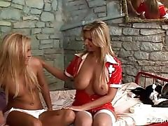 Horny Whore Nicky Angel Eats Out...