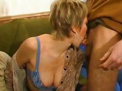 French mature gangbanged