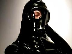 Girl Rubber And Mask