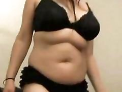 Fat Chubby Girlfriend playing with her Wet...