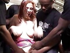 Penny Pax wants interracial bukkake party