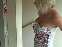 Amazing Big Tits Blonde Fucked Like a Whore